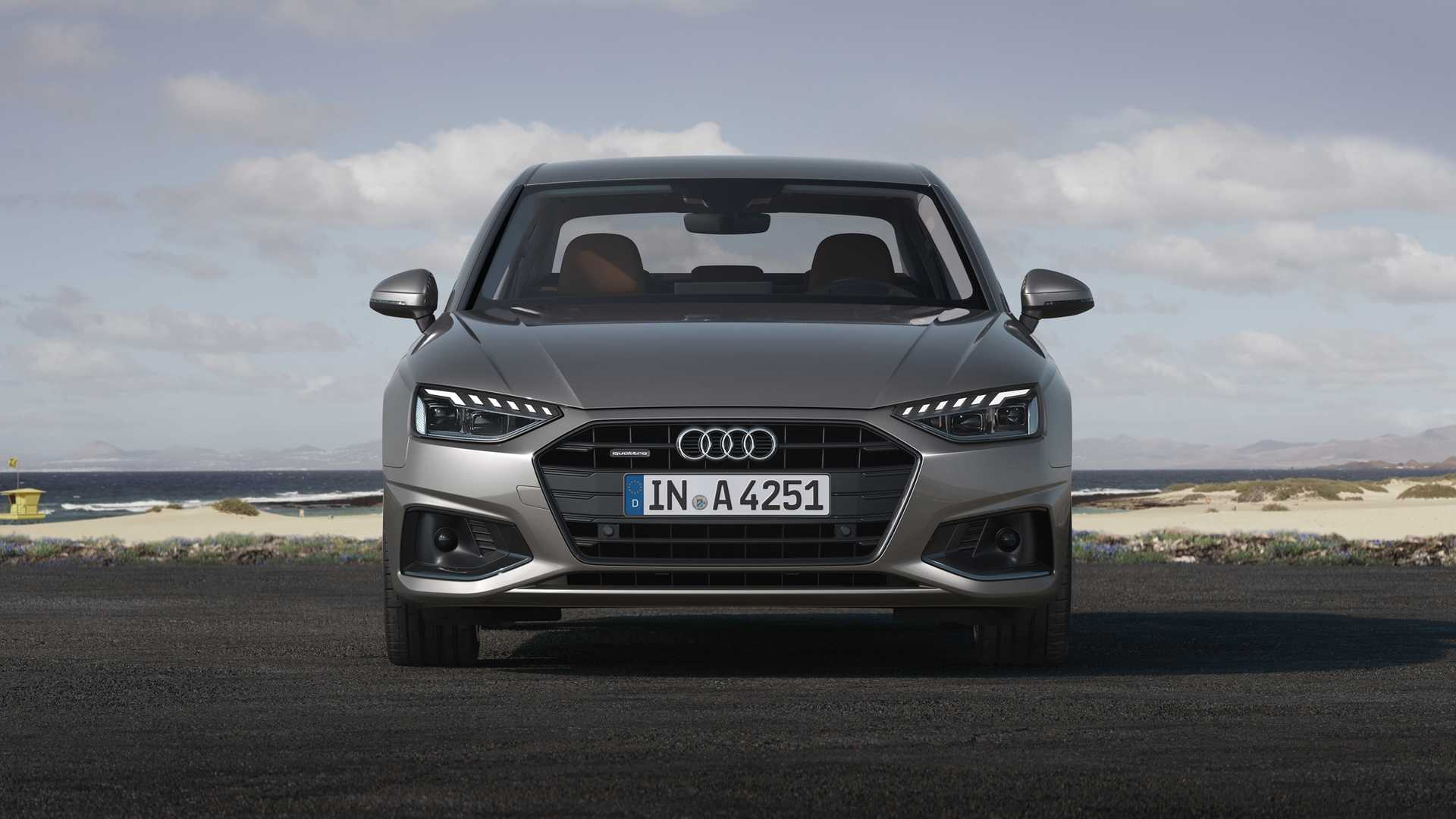 2020 Audi A4 (Color: Terra Gray) Front Wallpapers (4)