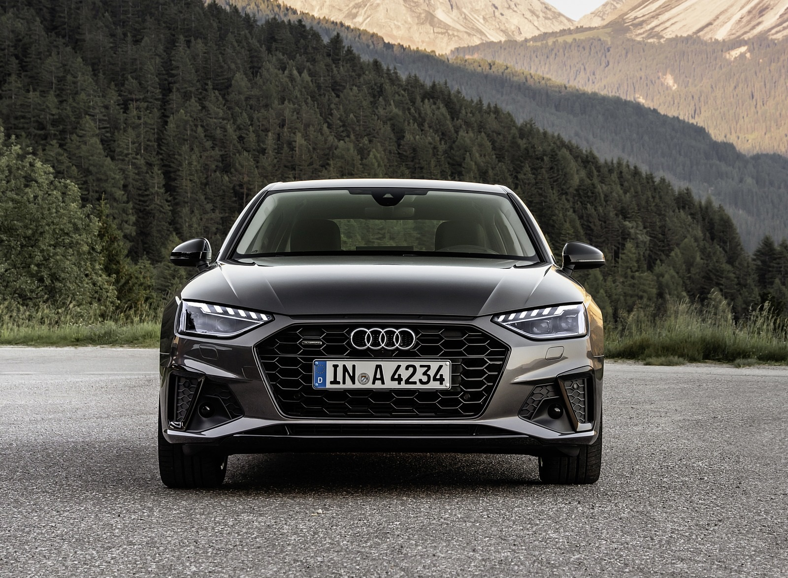 2020 Audi A4 (Color: Terra Gray) Front Wallpapers (11)