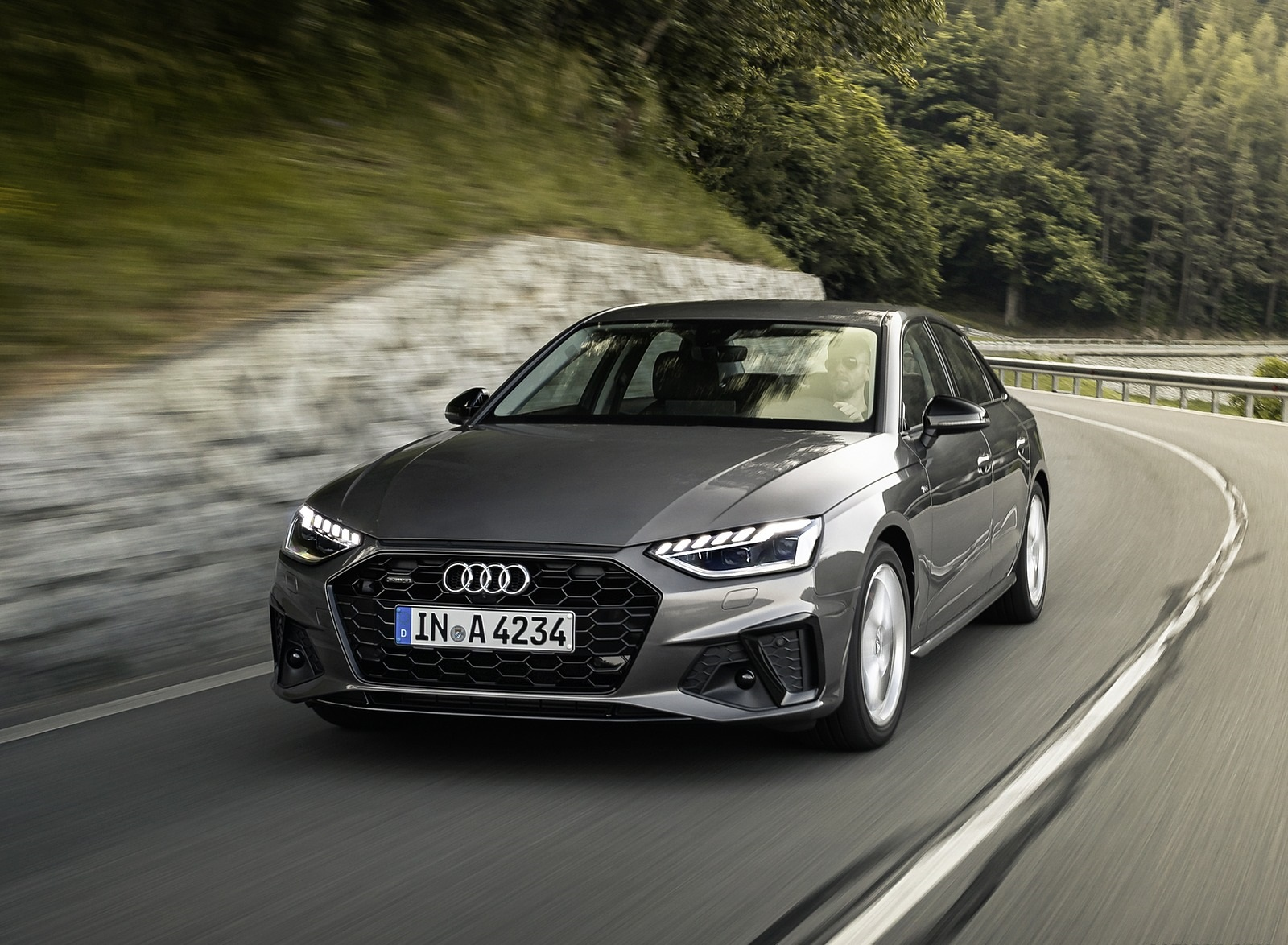 2020 Audi A4 (Color: Terra Gray) Front Wallpapers (3)