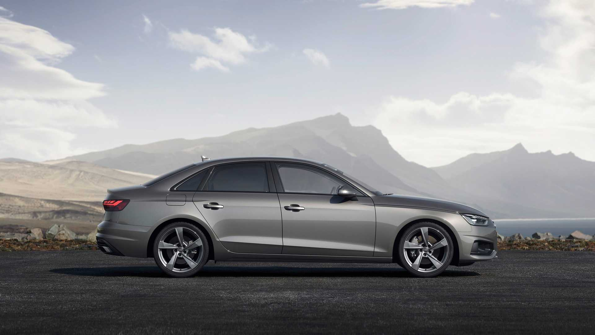 2020 Audi A4 (Color: Terra Gray) Side Wallpapers (7)