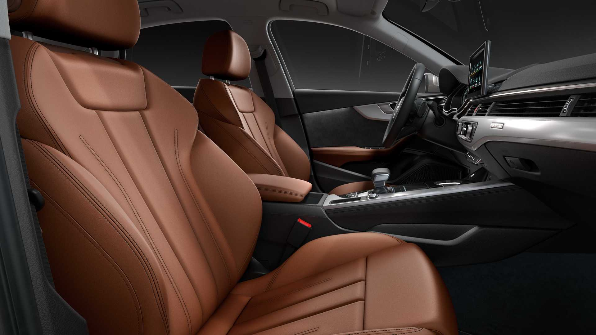 2020 Audi A4 Interior Front Seats Wallpapers (9)