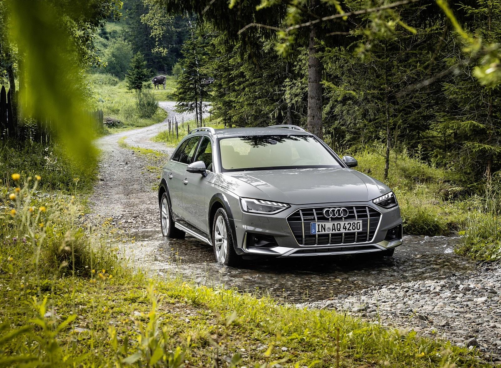 2020 Audi A4 allroad (Color: Quantum Gray) Front Three-Quarter Wallpapers (10)
