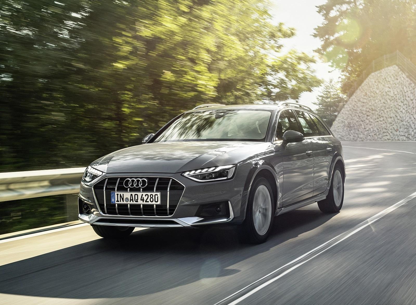 2020 Audi A4 allroad (Color: Quantum Gray) Front Three-Quarter Wallpapers (2)