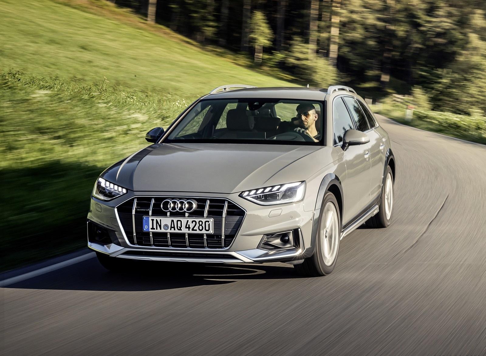 2020 Audi A4 allroad (Color: Quantum Gray) Front Wallpapers (3)