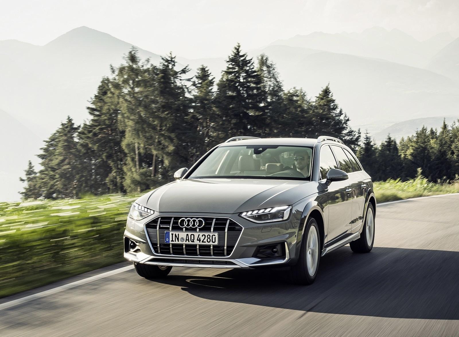 2020 Audi A4 allroad (Color: Quantum Gray) Front Wallpapers (1)