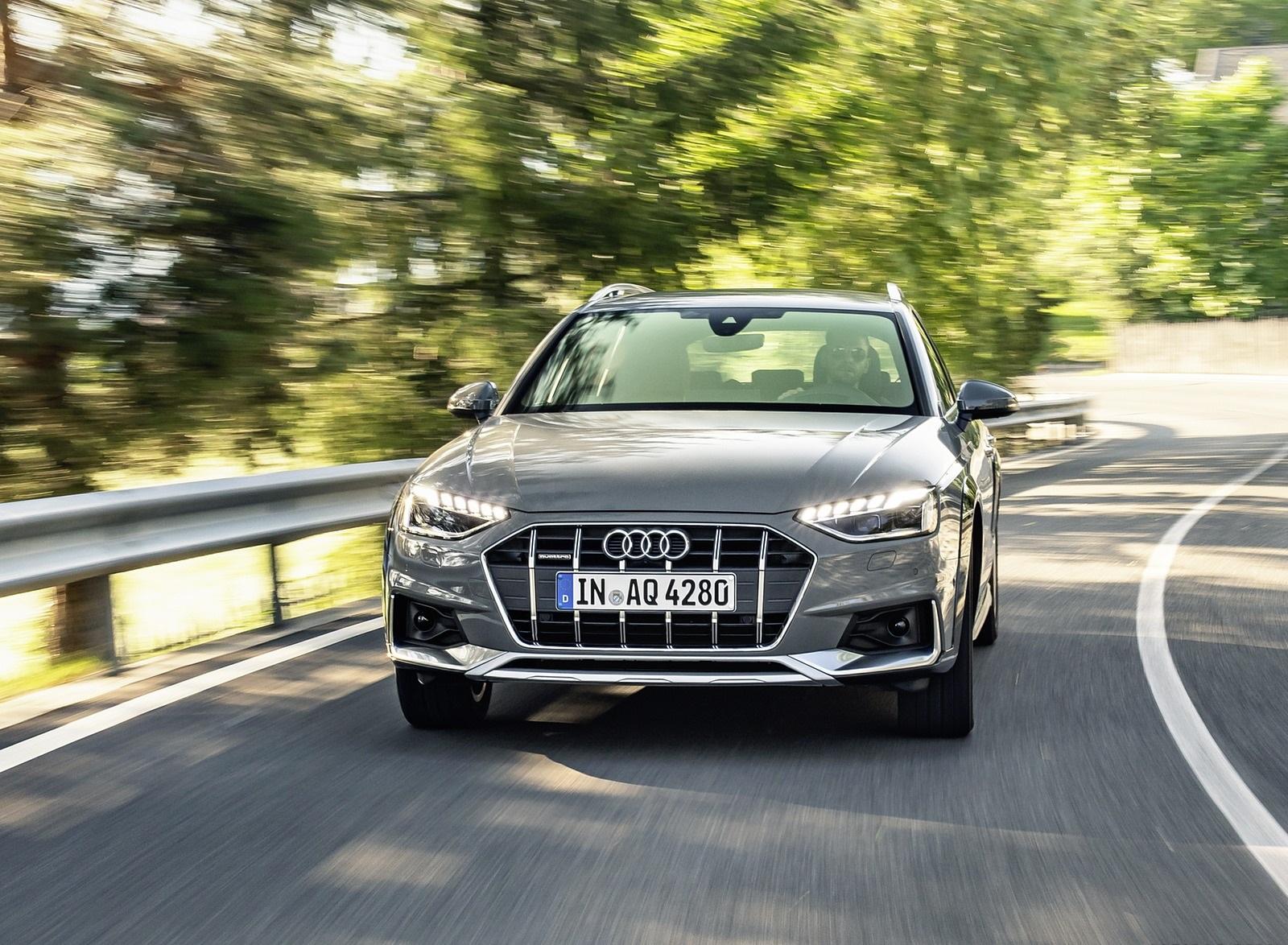 2020 Audi A4 allroad (Color: Quantum Gray) Front Wallpapers (4)
