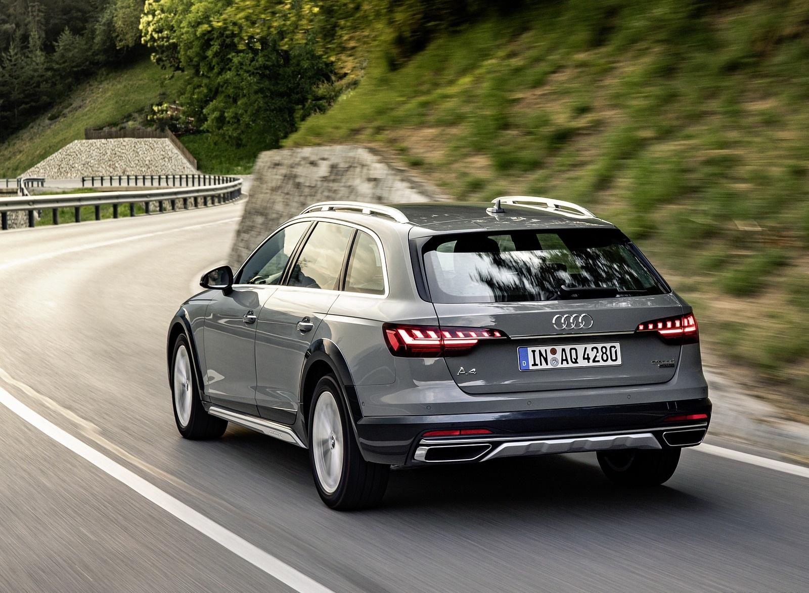 2020 Audi A4 allroad (Color: Quantum Gray) Rear Three-Quarter Wallpapers (5)