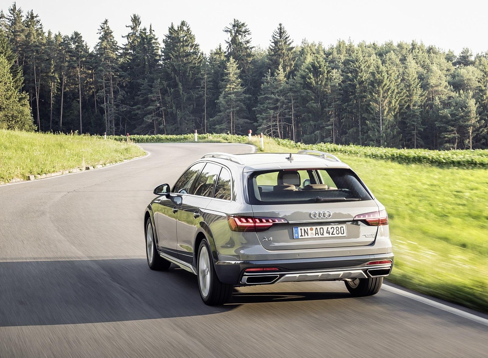 2020 Audi A4 allroad (Color: Quantum Gray) Rear Wallpapers (6)