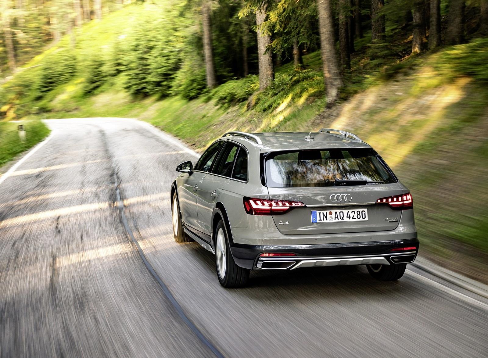 2020 Audi A4 allroad (Color: Quantum Gray) Rear Wallpapers (7)