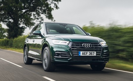 2020 Audi Q5 55 TFSI e Plug-In Hybrid Front Three-Quarter Wallpapers 450x275 (65)