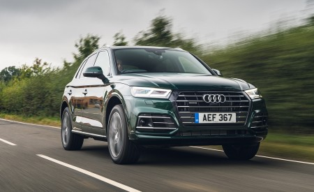 2020 Audi Q5 55 TFSI e Plug-In Hybrid Front Three-Quarter Wallpapers 450x275 (66)