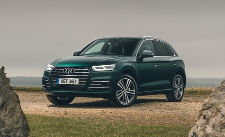 2020 Audi Q5 55 TFSI e Plug-In Hybrid Front Three-Quarter Wallpapers 450x275 (98)