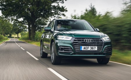 2020 Audi Q5 55 TFSI e Plug-In Hybrid Front Wallpapers 450x275 (70)