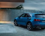 2020 Audi Q5 55 TFSI e quattro Plug-in Hybrid (Color: Turbo Blue) Rear Three-Quarter Wallpapers 150x120