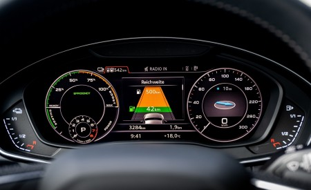 2020 Audi Q5 TFSI e Plug-In Hybrid Digital Instrument Cluster Wallpapers 450x275 (54)