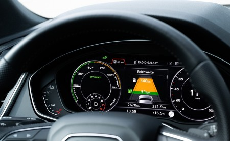 2020 Audi Q5 TFSI e Plug-In Hybrid Digital Instrument Cluster Wallpapers 450x275 (56)