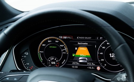 2020 Audi Q5 TFSI e Plug-In Hybrid Digital Instrument Cluster Wallpapers 450x275 (57)