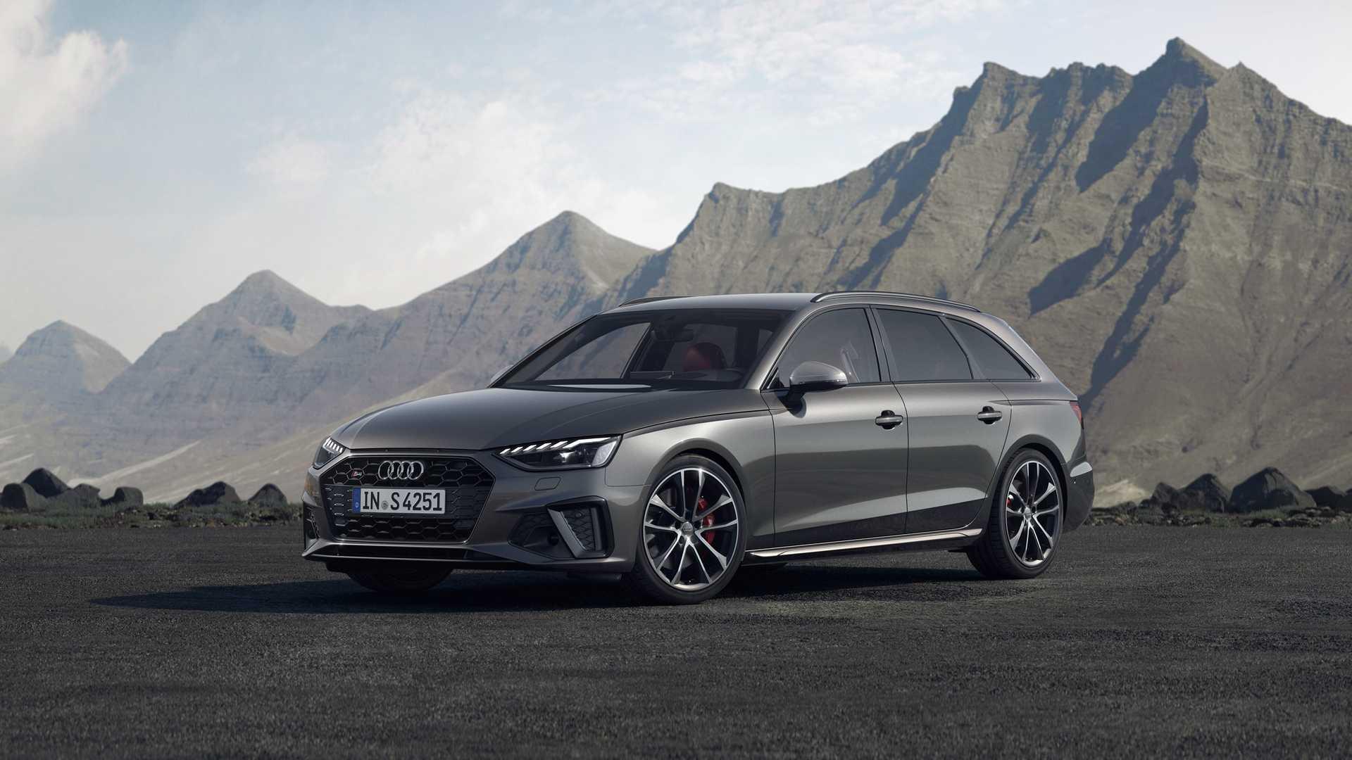 2020 Audi S4 Avant TDI (Color: Daytona Gray) Front Three-Quarter Wallpapers (3)