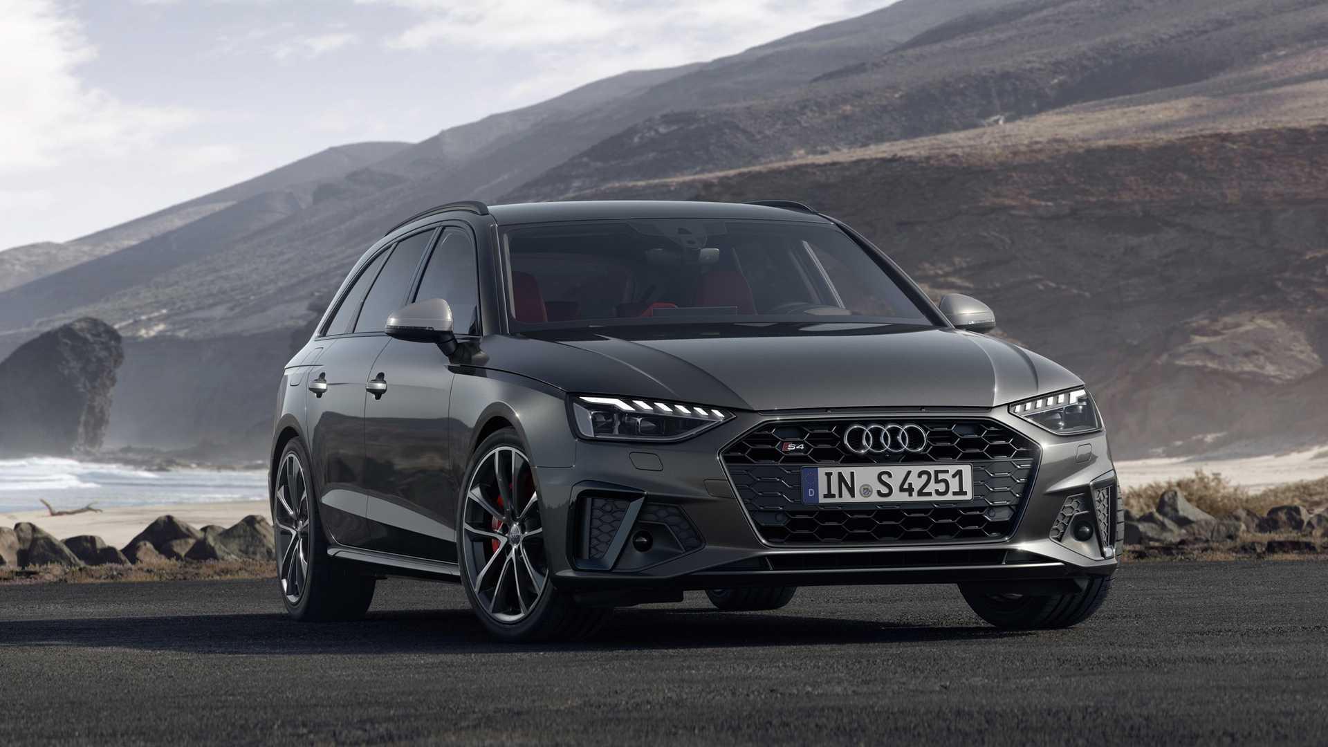 2020 Audi S4 Avant TDI (Color: Daytona Gray) Front Three-Quarter Wallpapers (1)