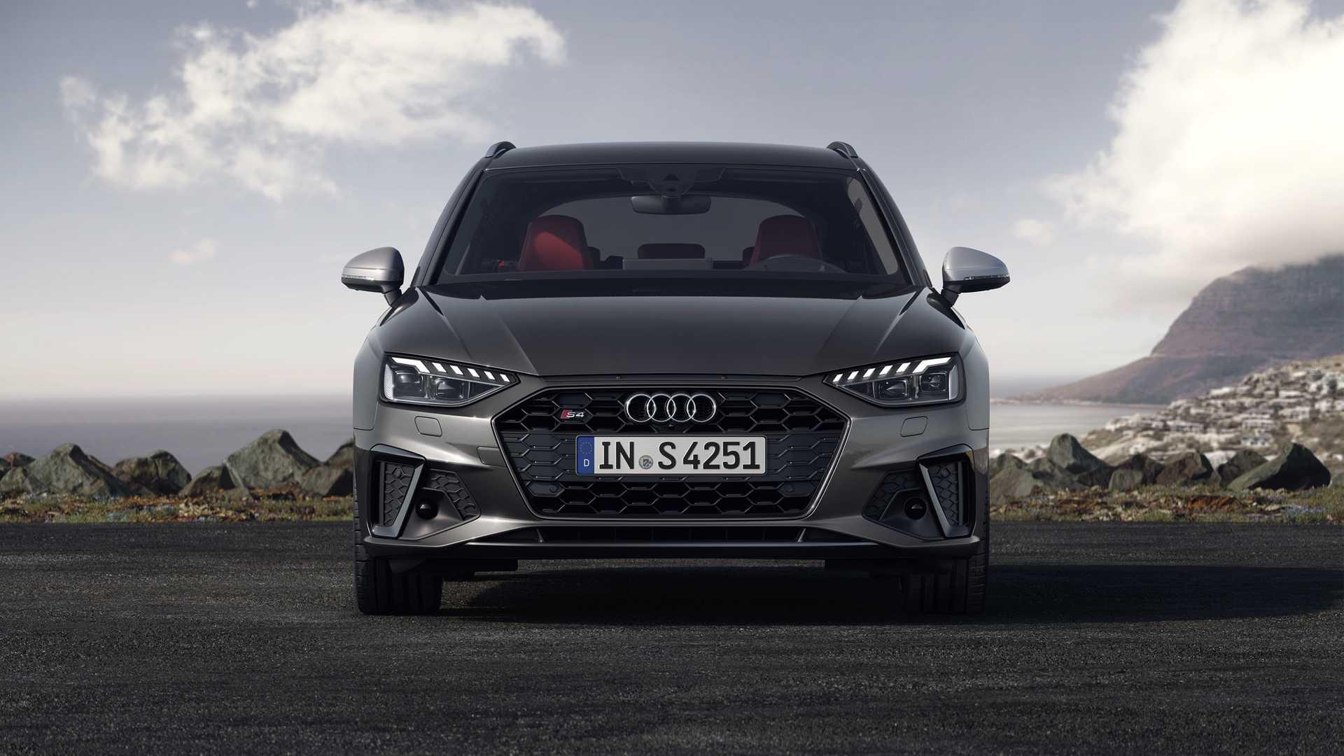 2020 Audi S4 Avant TDI (Color: Daytona Gray) Front Wallpapers (4)