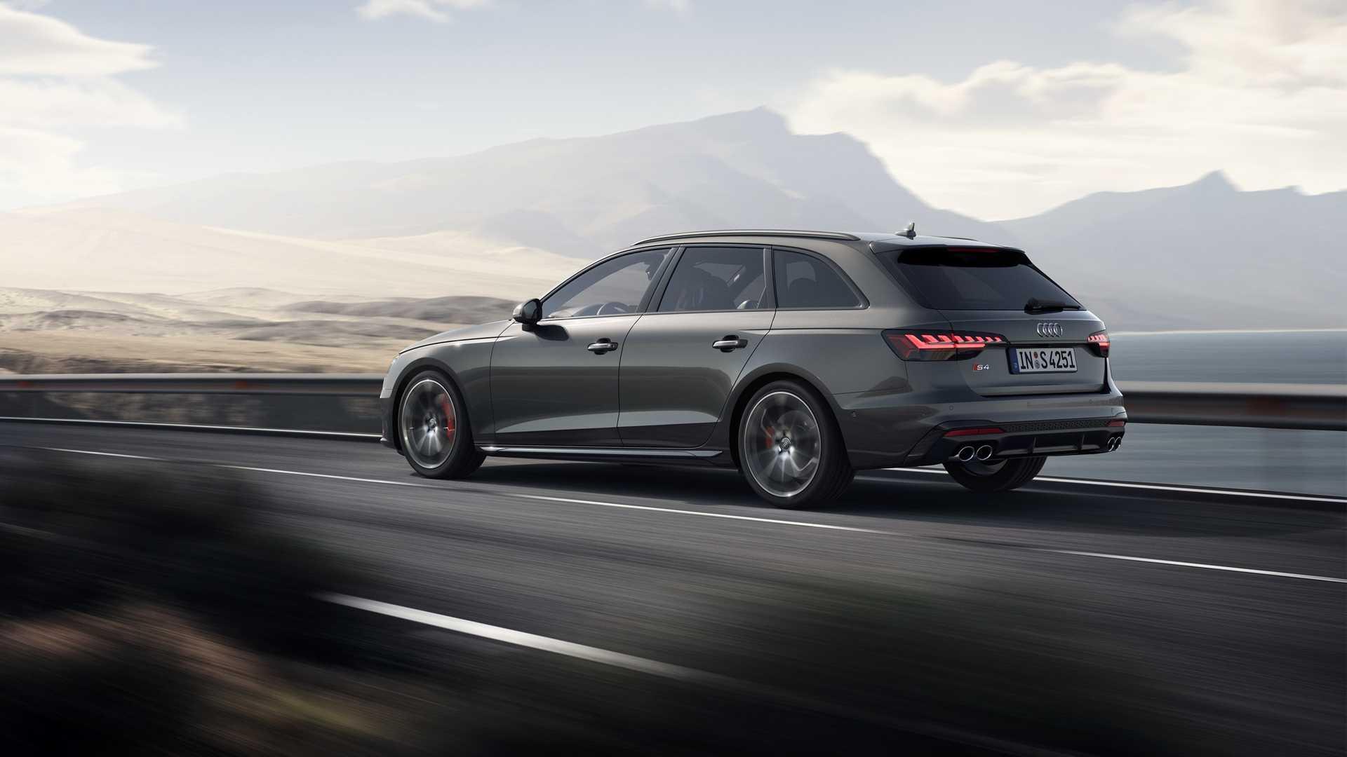 2020 Audi S4 Avant TDI (Color: Daytona Gray) Rear Three-Quarter Wallpapers (2)