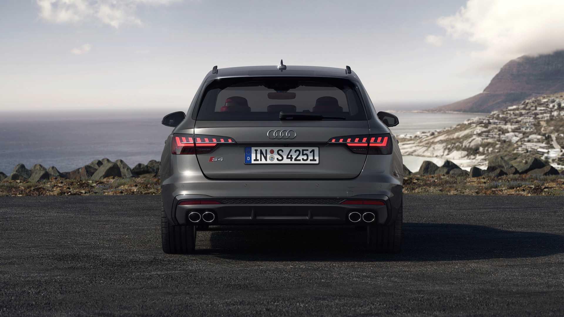 2020 Audi S4 Avant TDI (Color: Daytona Gray) Rear Wallpapers (6)