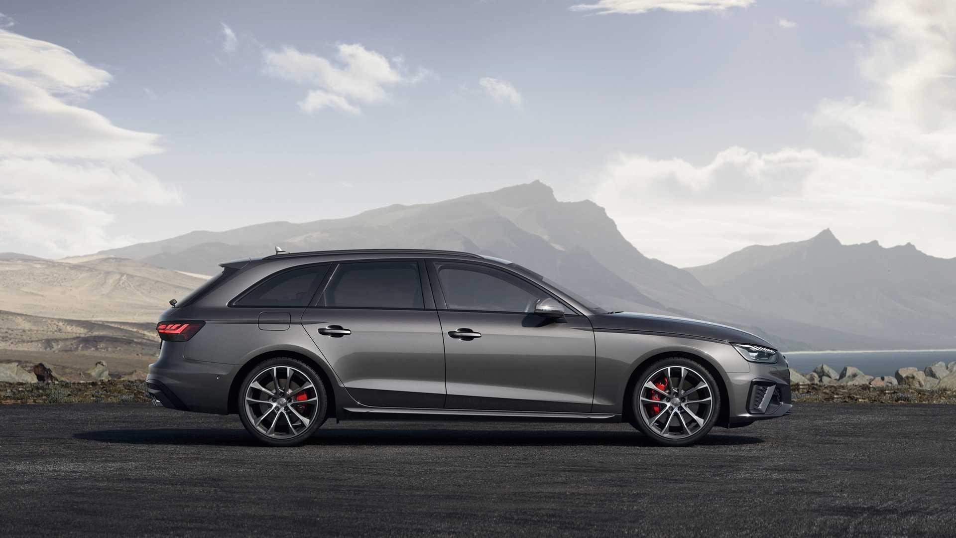 2020 Audi S4 Avant TDI (Color: Daytona Gray) Side Wallpapers (7)