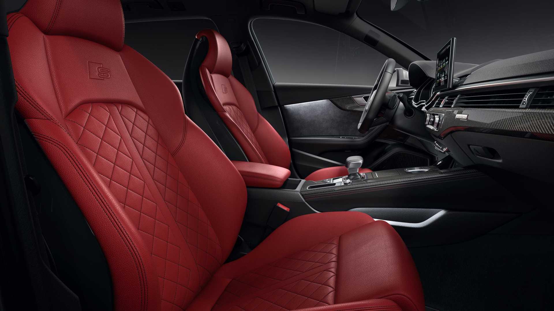 2020 Audi S4 Avant TDI Interior Front Seats Wallpapers (8)