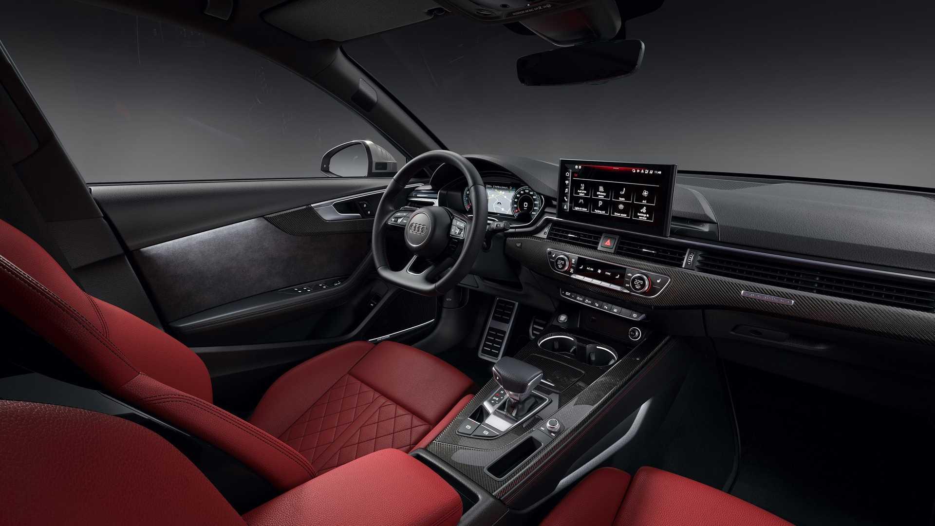 2020 Audi S4 Avant TDI Interior Wallpapers (9)