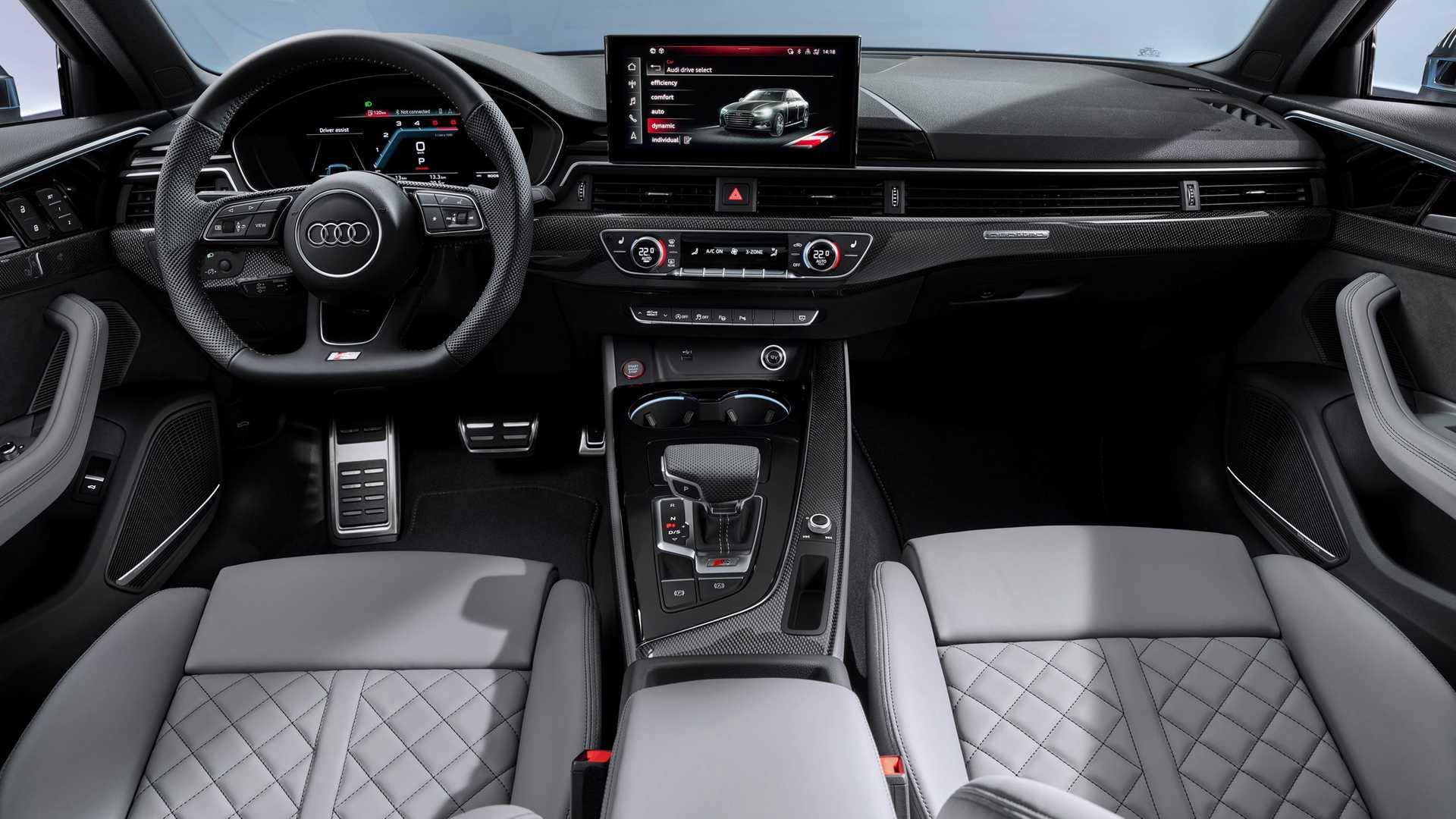 2020 Audi S4 TDI Interior Cockpit Wallpapers (6)