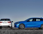 2020 BMW 1-Series 118i (Color: Mineral white Metallic) and BMW M135i xDrive Wallpapers 150x120 (13)