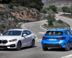 2020 BMW 1-Series 118i (Color: Mineral white Metallic) and BMW M135i xDrive Wallpapers 150x120 (17)