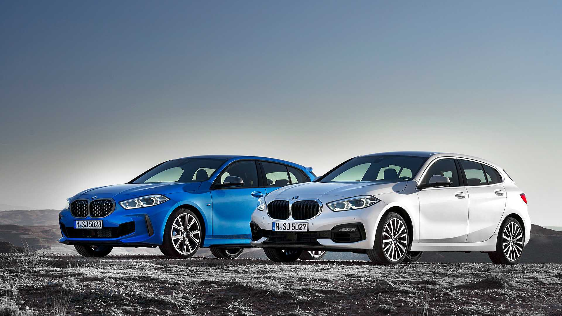 2020 BMW 1-Series 118i (Color: Mineral white Metallic) and BMW M135i xDrive Wallpapers (15)