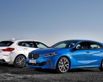 2020 BMW 1-Series 118i (Color: Mineral white Metallic) and BMW M135i xDrive Wallpapers 150x120 (14)