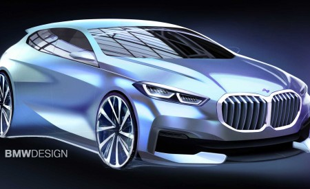 2020 BMW 1-Series Design Sketch Wallpapers 450x275 (57)