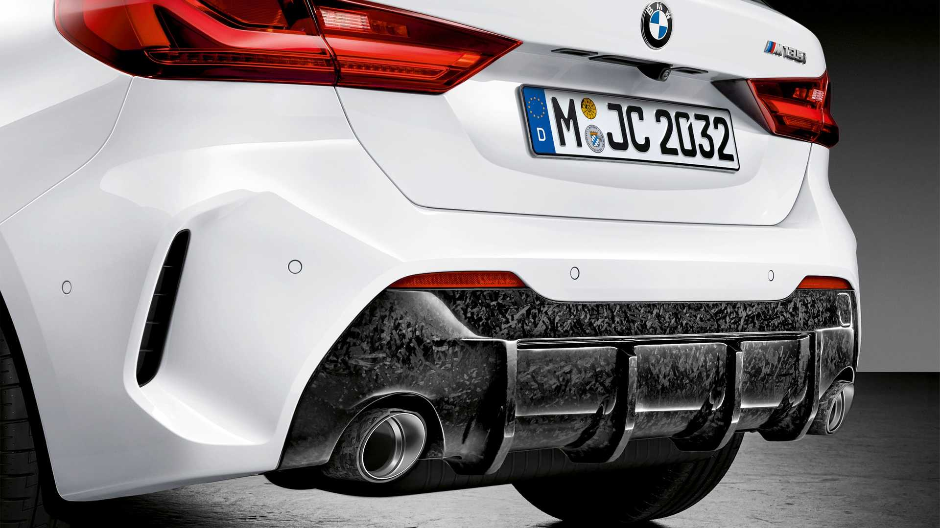 2020 Bmw 1 Series M Performance Parts Exhaust Wallpapers 12