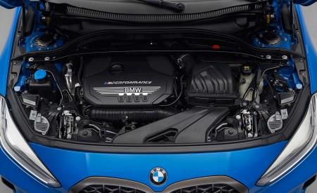 2020 BMW M135i xDrive (Color: Misano Blue Metallic) Engine Wallpapers 450x275 (33)