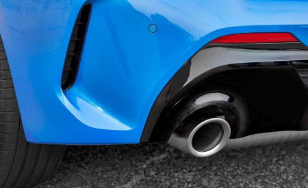 2020 BMW M135i xDrive (Color: Misano Blue Metallic) Exhaust Wallpapers 450x275 (32)
