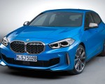 2020 BMW M135i xDrive (Color: Misano Blue Metallic) Front Three-Quarter Wallpapers 150x120 (20)