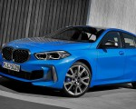 2020 BMW M135i xDrive (Color: Misano Blue Metallic) Front Three-Quarter Wallpapers 150x120 (10)