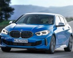 2020 BMW M135i xDrive (Color: Misano Blue Metallic) Front Three-Quarter Wallpapers 150x120 (3)