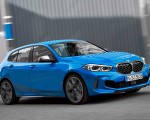 2020 BMW M135i xDrive (Color: Misano Blue Metallic) Front Three-Quarter Wallpapers 150x120 (4)