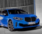2020 BMW M135i xDrive (Color: Misano Blue Metallic) Front Three-Quarter Wallpapers 150x120 (11)