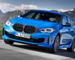 2020 BMW M135i xDrive (Color: Misano Blue Metallic) Front Three-Quarter Wallpapers 150x120 (2)