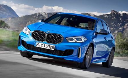 2020 BMW M135i xDrive (Color: Misano Blue Metallic) Front Three-Quarter Wallpapers 450x275 (2)