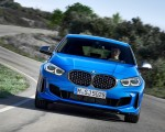 2020 BMW M135i xDrive (Color: Misano Blue Metallic) Front Wallpapers 150x120 (1)