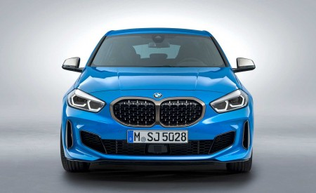 2020 BMW M135i xDrive (Color: Misano Blue Metallic) Front Wallpapers 450x275 (21)