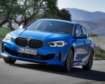 2020 BMW M135i xDrive (Color: Misano Blue Metallic) Front Wallpapers 150x120 (5)