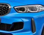 2020 BMW M135i xDrive (Color: Misano Blue Metallic) Headlight Wallpapers 150x120 (30)