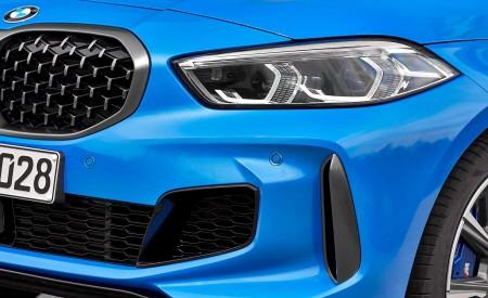 2020 BMW M135i xDrive (Color: Misano Blue Metallic) Headlight Wallpapers 450x275 (30)